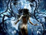 Kobieta fantasy HD