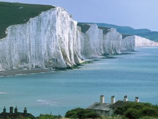 Obrazek: Beachy Head and Seven Sisters Cliffs, East Sussex, England