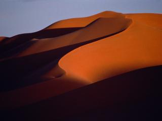 Obrazek: Shadows in the Sand, Morocco