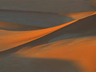 Obrazek: Shadows in the Sand, Namib Desert, Namibia, Africa