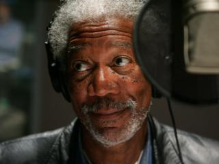 Obrazek: Morgan Freeman, Narrator, March of the Penguins