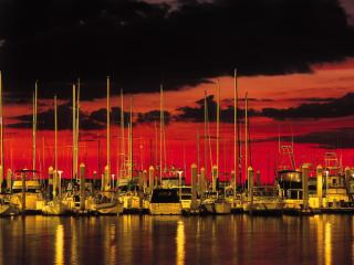 Obrazek: Harbor Sunset, Hollywood, Florida