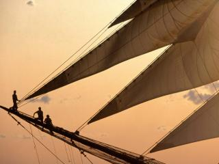 Obrazek: Sunset Sailing, New York