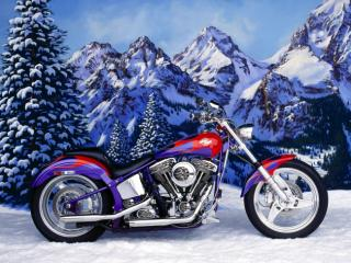 Obrazek: 1996 Custom Chrome Softail