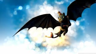 Obrazek: How to train your dragon movie