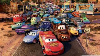 Obrazek: Route 66 cars movie