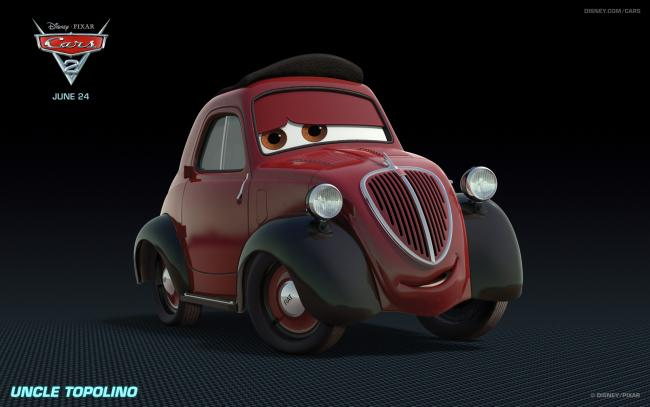 Auta II Cars 2 - Uncle